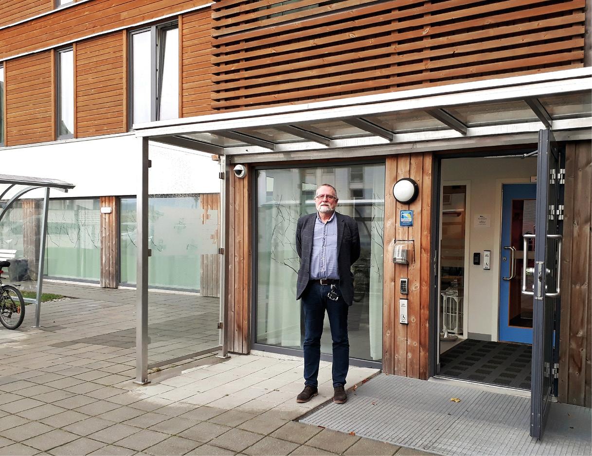 Klinikchef Geir Henrik Iversen