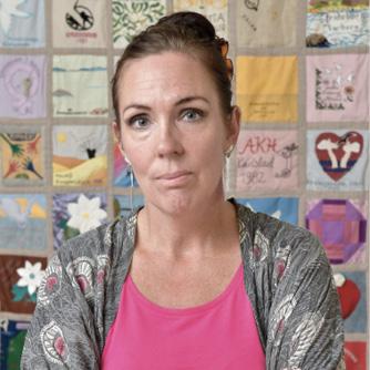 Foto av Jenny Westerstrand ordförande för ROKS