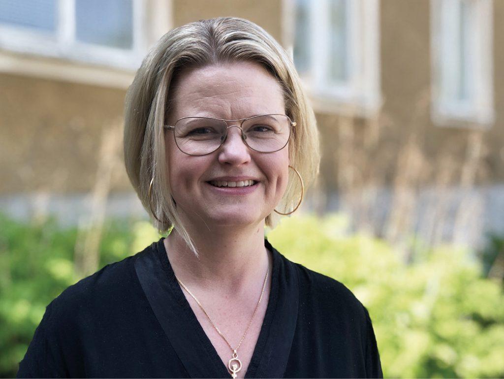 Veronica Ekström. Foto: Marie Hedberg.