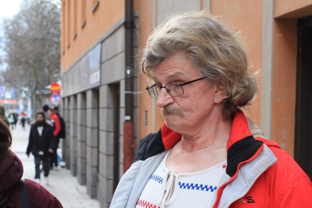 Niklas Eklund jobbar på Brukarföreningen Stockholm.