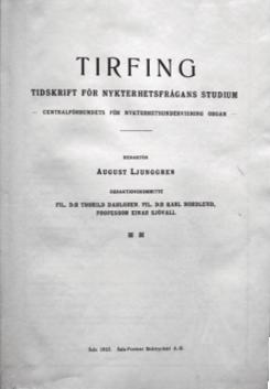 Omslag till Tirfing 1924